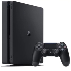 Sony PlayStation 4 Slim 1ТБ + GT Sport (CUH-2108B) (черный)