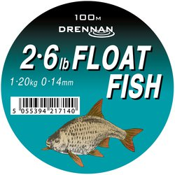 Леска DRENNAN FLOAT FISH Mono - 100m / 0.14mm / 1.2kg