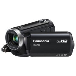 Panasonic HC-V100 (black 1xMOS 34x IS opt 2.7 1080i SDXC+SDHC Flash)
