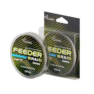 Плетеный шнур ALLVEGA FEEDER BRAID
