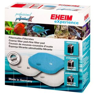 Наполнитель Eheim Set coarse filter pad/Fine filter pads для EHEIM eXperience/professionel 350 (комплект: 3 шт.)